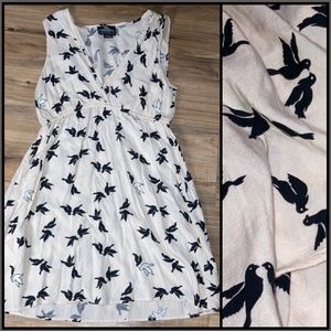 ANGIE WOMANS SUMMER DRESS WITH DOVES MED